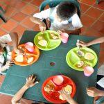 El carrusel de la alimentación escolar*